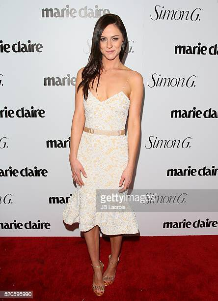 Alexandra Park attends the 'Fresh Faces' party hosted by Marie Claire celebrating the May issue cover stars on April 11 2016 in Los Angeles California