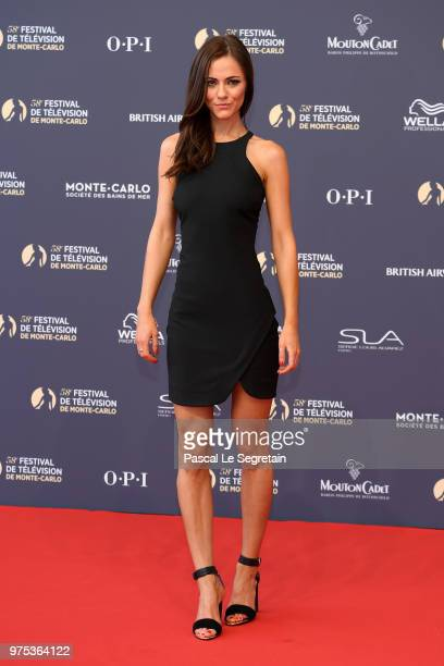 Alexandra Park attends the opening ceremony of the 58th Monte Carlo TV Festival on June 15 2018 in MonteCarlo Monaco