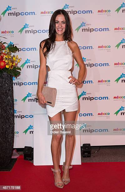 Alexandra Park attends the opening red carpet party MIPCOM 2014 at Hotel Martinez on October 13, 2014 in Cannes, France.