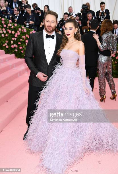 Alexandra Parker and Sean Parker attend The 2019 Met Gala Celebrating Camp Notes on Fashion at Metropolitan Museum of Art on May 06 2019 in New York...
