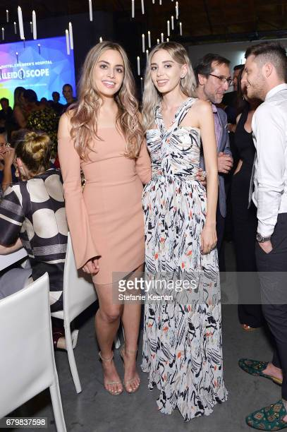 Alexandra Parker and Victoria Lenas attend UCLA Mattel Children's Hospital presents Kaleidoscope 5 on May 6 2017 in Culver City California