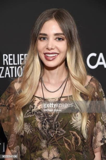 Alexandra Parker attends the 7th Annual Sean Penn Friends HAITI RISING Gala benefiting J/P Haitian Relief Organization on January 6 2018 in Hollywood...