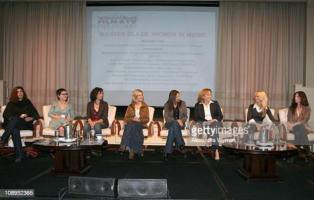 Alexandra Patsavas Annette Strean Starr Parodi Olivia NewtonJohn Laura Engel Maureen Crowe Kris Weiner and Jody Gerson