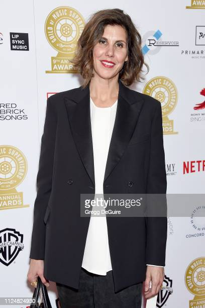 Alexandra Patsavas attends the 9th Annual Guild Of Music Supervisors Awards at The Theatre at Ace Hotel on February 13 2019 in Los Angeles California