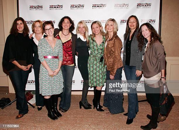 Alexandra Patsavas Maureen Crowe Annette Strean Starr Parodi Kris Weiner Tamara Conniff Olivia NewtonJohn Laura Engel and Jody Gerson
