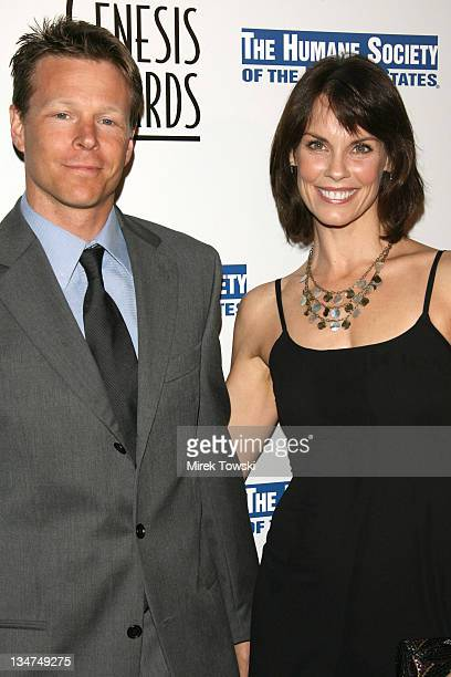 Alexandra Paul and her husband during The 20th Annual Genesis Awards at Beverly Hilton Hotel in Beverly Hills California United States