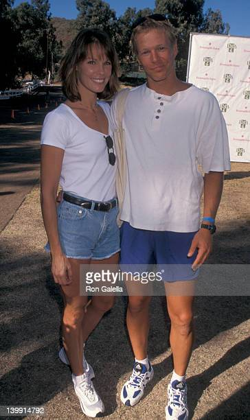 Alexandra Paul and Ian Murray at the 1997 Environmental Media Awards Will Rogers State Park Pacific Palisades