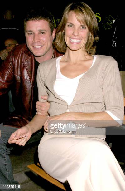 Alexandra Paul and Jaason Simmons during '10 Attitudes' DVD Launch Party at Here Lounge in West Hollwood California United States