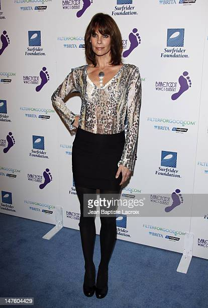 Alexandra Paul arrives at The Surfrider Foundation's 25th Anniversary Gala at the California Science Center's Wallis Annenberg Building on October 9...