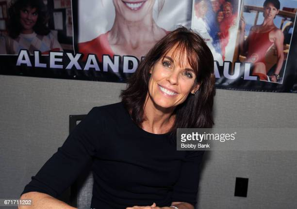 Alexandra Paul attends Chiller Theatre Expo Spring 2017 at Hilton Parsippany on April 22 2017 in Parsippany New Jersey