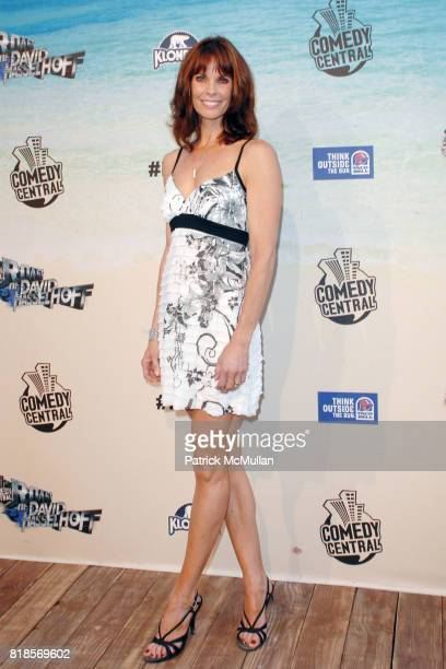 Alexandra Paul attends COMEDY CENTRAL ROASTS DAVID HASSELHOFF at Sony Pictures Studios on August 1 2010 in Culver City CA