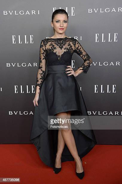 Alexandra Pereira attends the Elle Style Awards party at the Italian Embassy on October 23 2014 in Madrid Spain