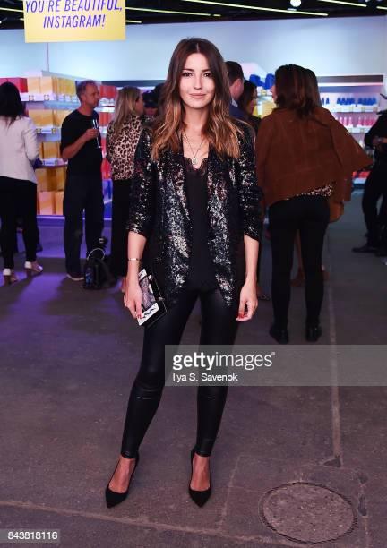 Alexandra Pereira attends the Esmara By Heidi Klum Lidl Fashion Presentation at New York Fashion Week #Letswow at ArtBeam on September 7 2017 in New...