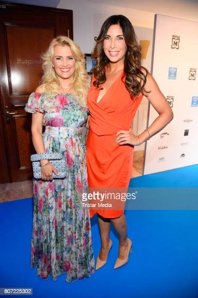 Alexandra Polzin and Jennifer Knaeble attend the 14th SPA Diamond Award at Hotel Palace Berlin on July 3 2017 in Berlin Germany