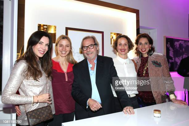 Alexandra Polzin Annika Blendl Didier Guillon founder and CEO Valmont Group and Valmont Foundation Lara Joy Koerner and Lola Paltinger during the La...