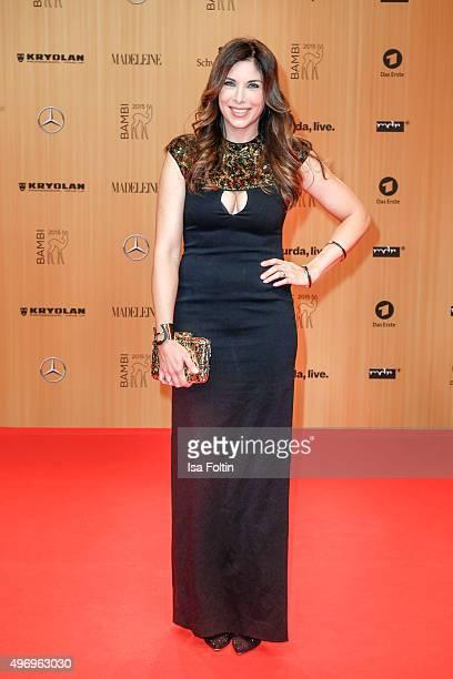 Alexandra Polzin attends the Kryolan At Bambi Awards 2015 Red Carpet Arrivals on November 12 2015 in Berlin Germany