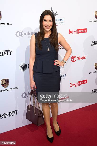 Alexandra Polzin attends the Medienboard BerlinBrandenburg Reception at Ritz Carlton on February 7 2015 in Berlin Germany