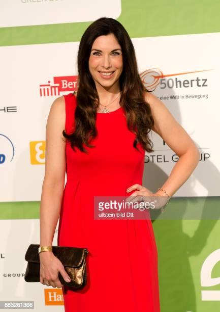 Alexandra Polzin auf den GreenTec Awards 2015 im Velodrom Berlin am