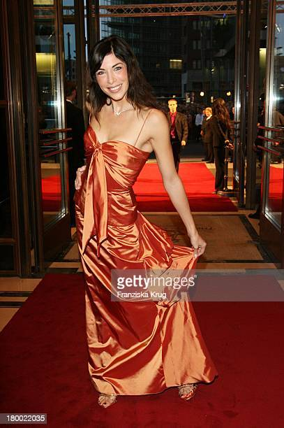Alexandra Polzin Bei Der Internationalen Gala Art For Children Zugunsten Der Organisation Innocence And Danger Am 011006 Im Ritz Carlton In Berlin