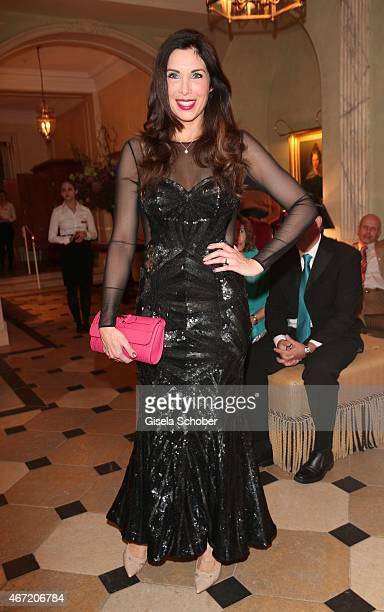 Alexandra Polzin during the Gala Spa Awards 2015 at Brenners ParkHotel Spa on March 21 2015 in BadenBaden Germany