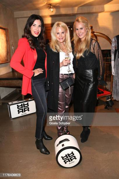 Alexandra Polzin Fashion designer Sonja Kiefer and Princess Nadja Anna zu SchaumburgLippe during the InStyle meets RIANI Dinner at Garden Restaurant...