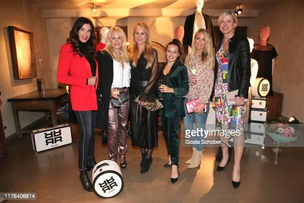 Alexandra Polzin fashion designer Sonja Kiefer Nadja Anna zu SchaumburgLippe Darya Gritsyuk Carolin Henseler Susanne Sigl during the InStyle meets...
