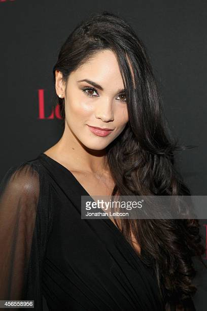 Alexandra Pomales attends Latina Magazine's Hollywood Hot List Party at Sunset Tower on October 2 2014 in West Hollywood California