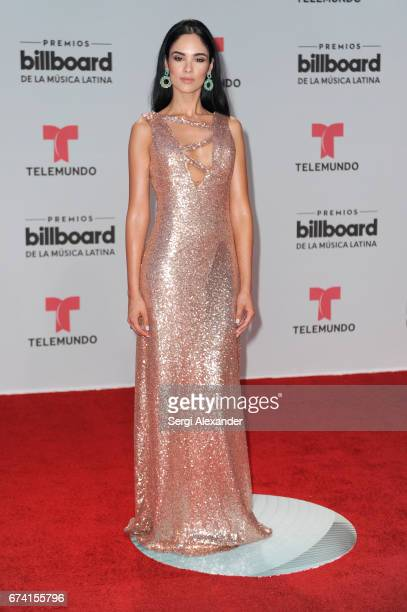 Alexandra Pomales attends the Billboard Latin Music Awards at Watsco Center on April 27 2017 in Coral Gables Florida