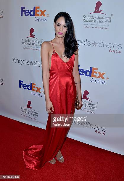 Alexandra Pomales attends the FedEx / St Jude Angels and Stars Gala at Hotel InterContinental on May 14 2016 in Miami Florida