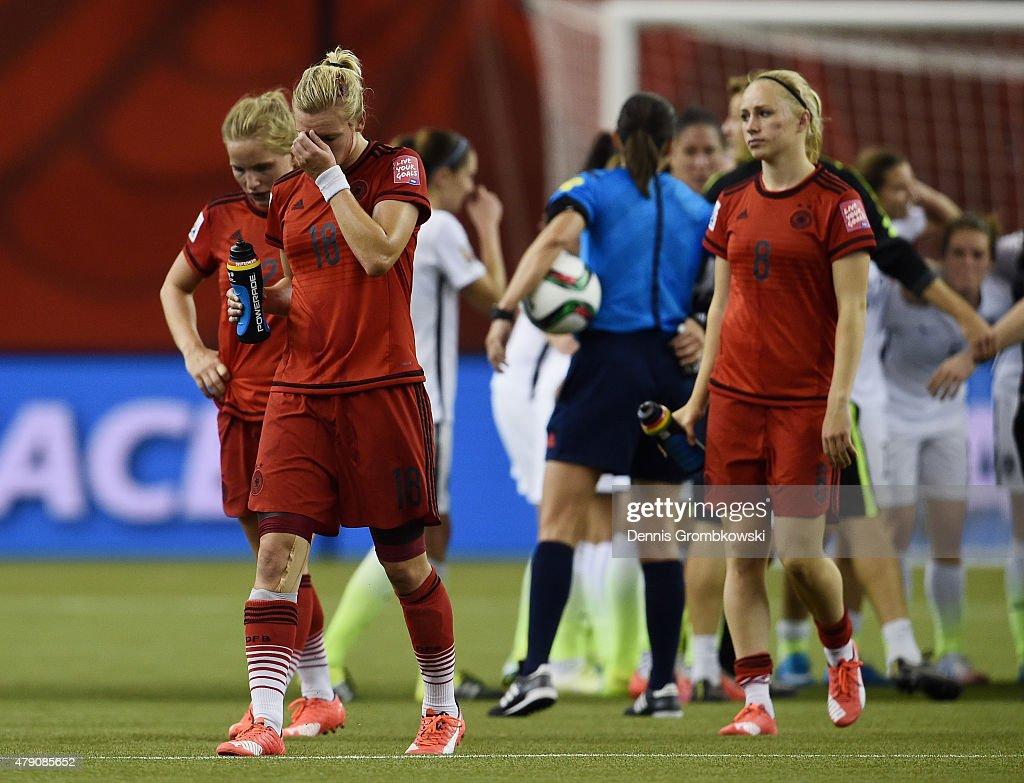USA v Germany: Semi-Final - FIFA Women's World Cup 2015