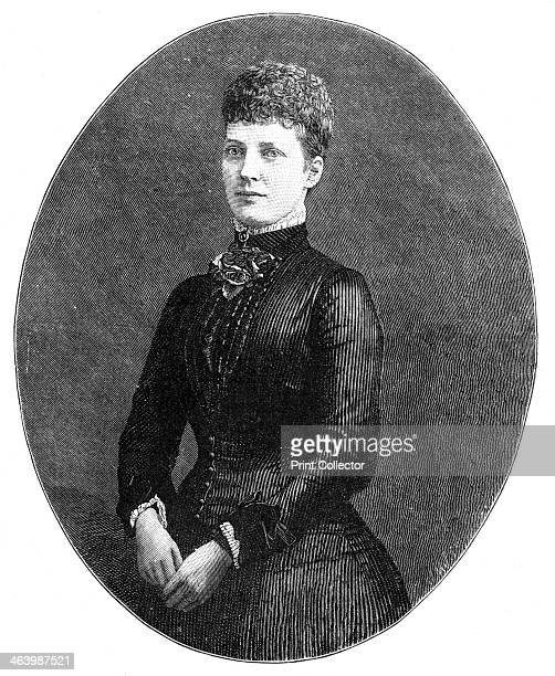 Alexandra Princess of Wales 1900 Princess Alexandra married Queen Victoria's eldest son the future King Edward VII in March 1863royal f A print from...
