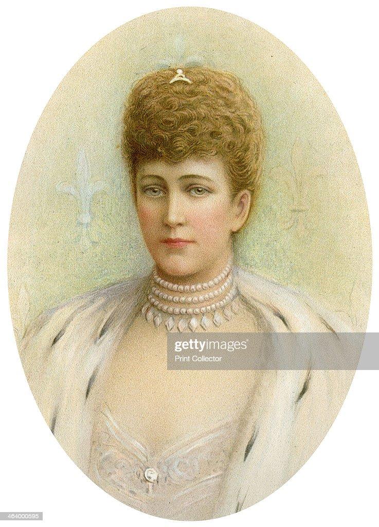 Alexandra, Queen Consort of King Edward VII of the United Kingdom, 1905. : Nieuwsfoto's