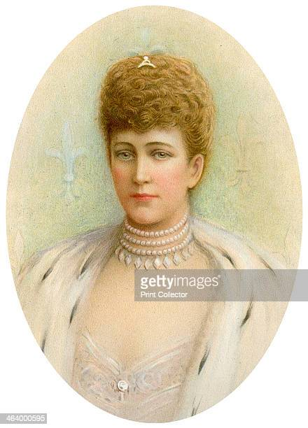 Alexandra Queen Consort of King Edward VII of the United Kingdom 1905 Princess Alexandra of Denmark 18441925 married Albert Edward Prince of Wales...