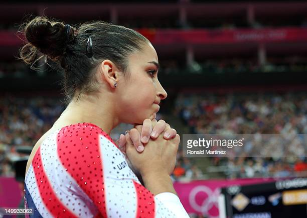 Alexandra Raisman of the United States looks after competing on the Artistic Gymnastics Women's Beam final on Day 11 of the London 2012 Olympic Games...
