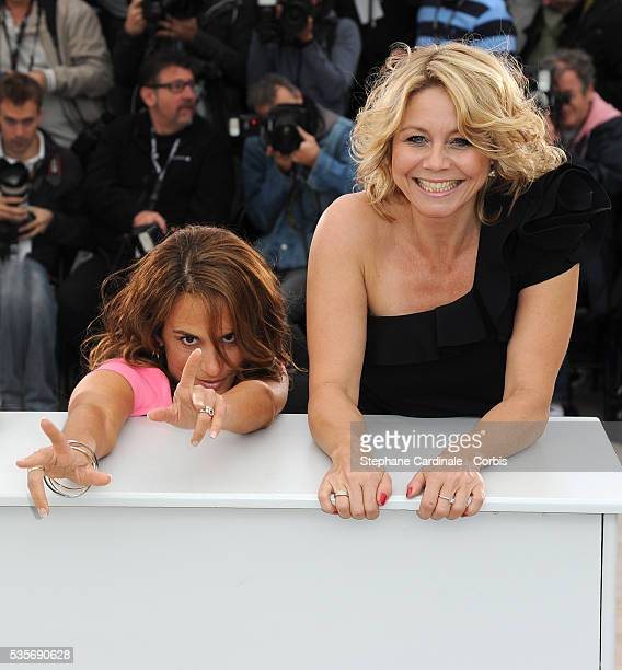 Alexandra Rapaport and Sisse Graum Jorgensen at the photo call for 'Jagten' during the 65th Cannes International Film Festival