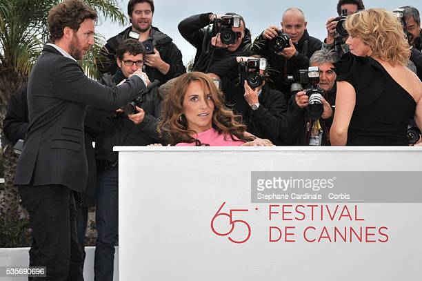 Alexandra Rapaport at the photo call for 'Jagten' during the 65th Cannes International Film Festival