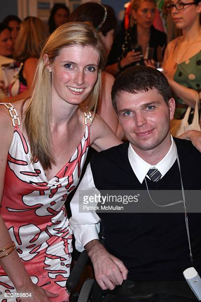 Alexandra Reeve and Francesco Clark attend HOLLYWOULD and The CHRISTOPHER and DANA REEVE FOUNDATION SUMMER PARTY at Hollywould on July 8 2008 in New...