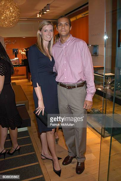 Alexandra Reeve and Garren Givens attend Kickoff Party for the CHRISTOPHER DANA REEVE FOUNDATION's A MAGICAL EVENING Gala at Di Modolo Royal Chie on...