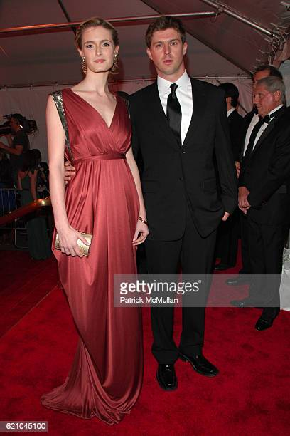 Alexandra Reeve and Matthew Reeve attend THE COSTUME INSTITUTE GALA 'SUPERHEROES' with honorary chair GIORGIO ARMANI at The Metropolitan Museum of...