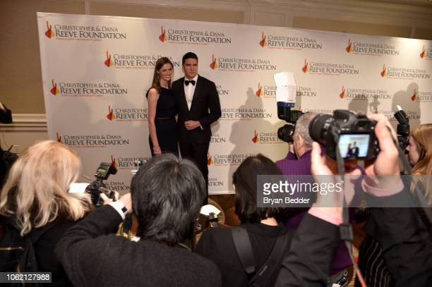 Alexandra Reeve and Will Reeve arrive at The Christopher Dana Reeve Foundation Magical Evening Gala on November 15 2018 in New York City