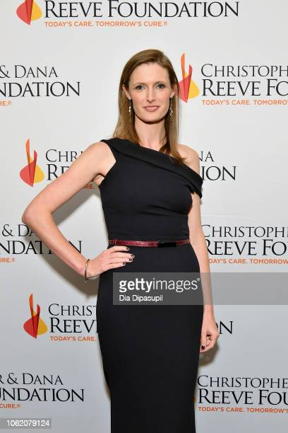 Alexandra Reeve arrives at The Christopher Dana Reeve Foundation Magical Evening Gala on November 15 2018 in New York City