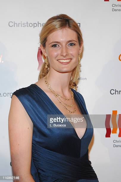 Alexandra Reeve attends A Magical Evening hosted by The Christopher and Dana Reeve Foundation at The Marriott Marquis on November 12 2007 in New York...