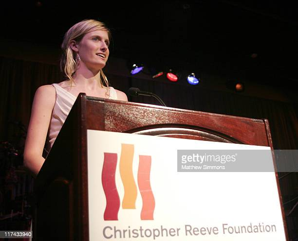 Alexandra Reeve during Christopher Reeve Foundation Fundraiser Beverly Hills September 27 2006 at Beverly Hilton Hotel in Beverly Hills CA United...