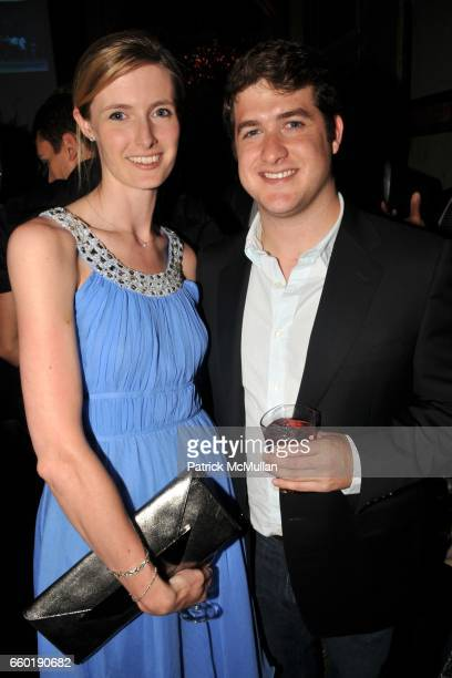 Alexandra Reeve Givens and Christopher Polisi attend UNICEF's Next Generation Launch Event at The Gates on July 23 2009 in New York City