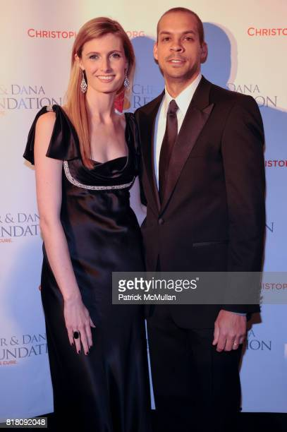 Alexandra Reeve Givens and Garren Givens attend CHRISTOPHER DANA REEVE Foundation's A Magical Evening 20th Anniversary Gala at the Mariott Marquis on...