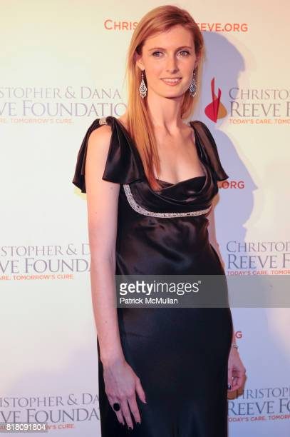 Alexandra Reeve Givens attend CHRISTOPHER DANA REEVE Foundation's A Magical Evening 20th Anniversary Gala at the Mariott Marquis on November 17th...