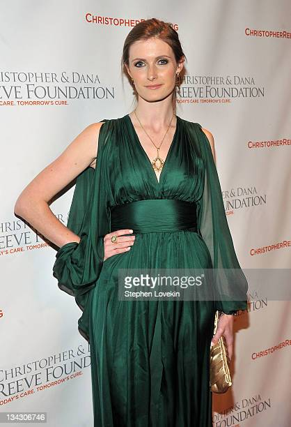 Alexandra Reeve Givens attends Christopher Dana Reeve Foundation's A Magical Evening Gala at Cipriani Wall Street on November 30 2011 in New York City