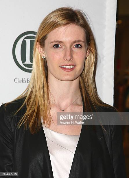 Alexandra Reeve Givens attends Clark's Botanicals Cellular Lifting Serum launch at Saks Fifth Avenue on May 6 2009 in New York New York
