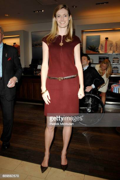 Alexandra Reeve Givens attends FACONNABLE VANITY FAIR Shopping Night for the Christopher Reeve Dana Reeve Foundation at Faconnable Store on October...