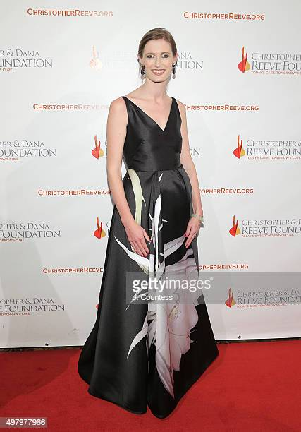 Alexandra Reeve Givens attends The Christopher And Dana Reeve Foundation's 'A Magical Evening' Gala at Cipriani Wall Street on November 19 2015 in...